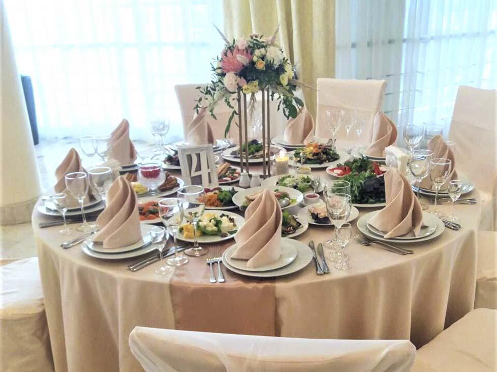 Аренда ресторана для свадьбы на 20 человек в Москве